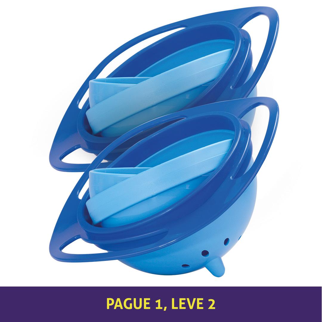 Prato Mágico - Azul + Azul
